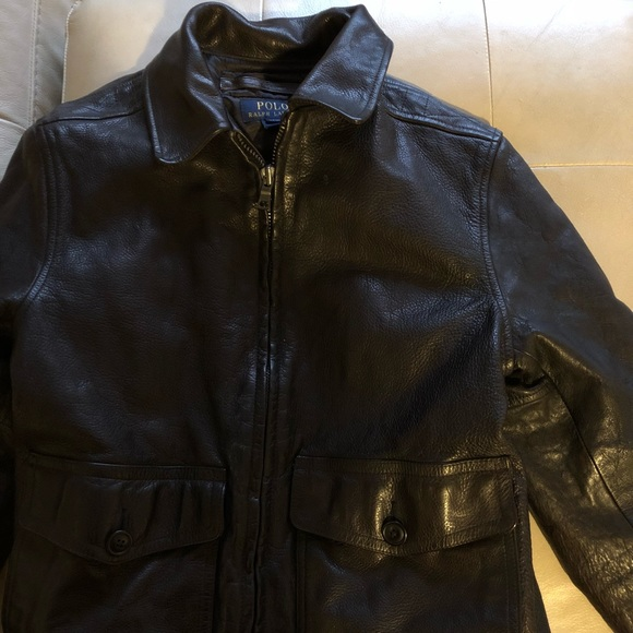 112b8c519 Authentic leather Ralph Lauren boys jacket! Ralph Lauren.  M_5bb3e4e63e0caab7387eddb8. M_5bb3e4e4534ef97c5b7810dd.  M_5bb3e4e8aaa5b83634506d87